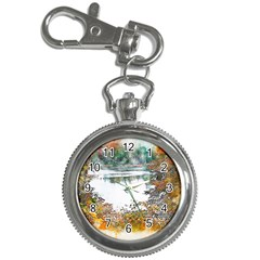 River Water Art Abstract Stones Key Chain Watches