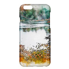 River Water Art Abstract Stones Apple Iphone 6 Plus/6s Plus Hardshell Case