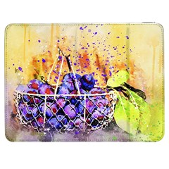 Fruit Plums Art Abstract Nature Samsung Galaxy Tab 7  P1000 Flip Case