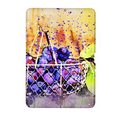 Fruit Plums Art Abstract Nature Samsung Galaxy Tab 2 (10 1 ) P5100 Hardshell Case  by Celenk