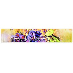 Fruit Plums Art Abstract Nature Large Flano Scarf
