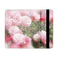 Flowers Roses Art Abstract Nature Samsung Galaxy Tab Pro 8 4  Flip Case by Celenk