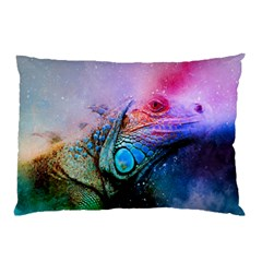 Lizard Reptile Art Abstract Animal Pillow Case (two Sides)