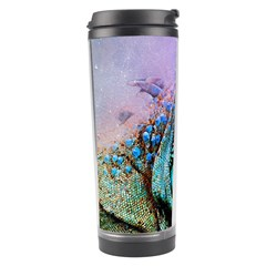 Lizard Reptile Art Abstract Animal Travel Tumbler by Celenk