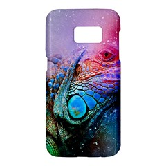 Lizard Reptile Art Abstract Animal Samsung Galaxy S7 Hardshell Case  by Celenk