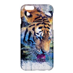 Tiger Drink Animal Art Abstract Apple Iphone 6 Plus/6s Plus Hardshell Case by Celenk