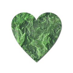 Geological Surface Background Heart Magnet