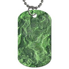 Geological Surface Background Dog Tag (two Sides)