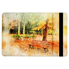 Tree Park Bench Art Abstract Ipad Air Flip