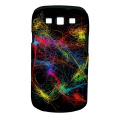 Background Light Glow Abstract Art Samsung Galaxy S Iii Classic Hardshell Case (pc+silicone)