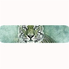 Tiger Cat Art Abstract Vintage Large Bar Mats