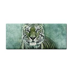Tiger Cat Art Abstract Vintage Cosmetic Storage Cases by Celenk