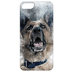 Dog Pet Art Abstract Vintage Apple Iphone 5 Classic Hardshell Case
