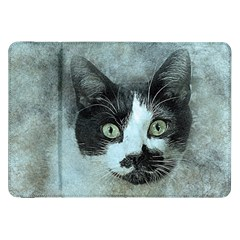 Cat Pet Art Abstract Vintage Samsung Galaxy Tab 8 9  P7300 Flip Case by Celenk