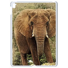 Elephant Animal Art Abstract Apple Ipad Pro 9 7   White Seamless Case