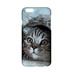 Cat Pet Art Abstract Vintage Apple Iphone 6/6s Hardshell Case by Celenk