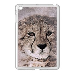Leopard Art Abstract Vintage Baby Apple Ipad Mini Case (white) by Celenk