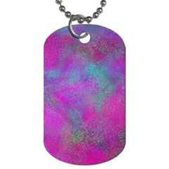 Background Texture Structure Dog Tag (one Side) by Celenk