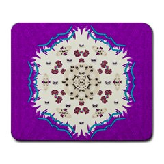 Eyes Looking For The Finest In Life As Calm Love Large Mousepads by pepitasart