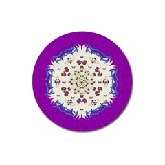 Eyes Looking For The Finest In Life As Calm Love Magnet 3  (round) by pepitasart