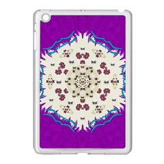 Eyes Looking For The Finest In Life As Calm Love Apple Ipad Mini Case (white) by pepitasart