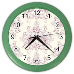 French Chic Color Wall Clocks by 8fugoso