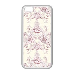 French Chic Apple Iphone 5c Seamless Case (white) by 8fugoso