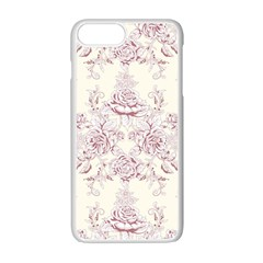 French Chic Apple Iphone 7 Plus Seamless Case (white) by 8fugoso