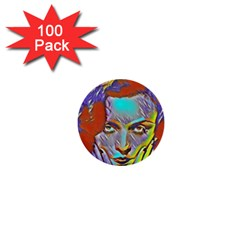 Femm Fatale 1  Mini Buttons (100 Pack)  by 8fugoso
