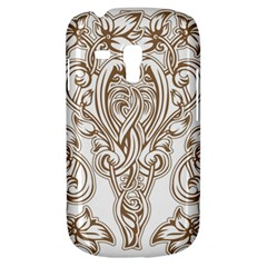 Beautiful Gold Floral Pattern Galaxy S3 Mini by 8fugoso