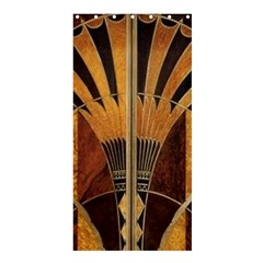 Art Deco Gold Shower Curtain 36  X 72  (stall)  by 8fugoso