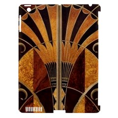 Art Deco Gold Apple Ipad 3/4 Hardshell Case (compatible With Smart Cover) by 8fugoso