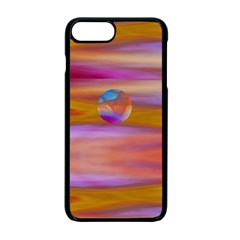 Space World Pattern Apple Iphone 7 Plus Seamless Case (black)