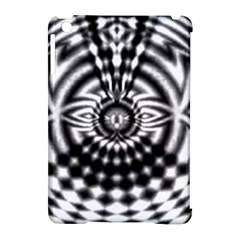 Ornaments Pattern Black White Apple Ipad Mini Hardshell Case (compatible With Smart Cover) by Cveti