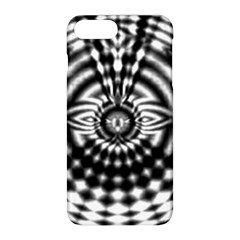 Ornaments Pattern Black White Apple Iphone 8 Plus Hardshell Case by Cveti