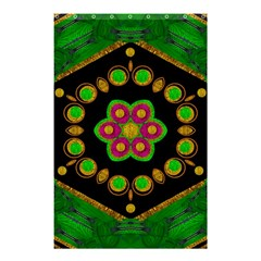 Magic Of Life A Orchid Mandala So Bright Shower Curtain 48  X 72  (small)  by pepitasart
