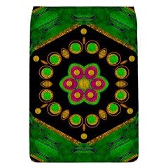 Magic Of Life A Orchid Mandala So Bright Flap Covers (l)  by pepitasart