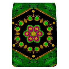 Magic Of Life A Orchid Mandala So Bright Flap Covers (s)  by pepitasart