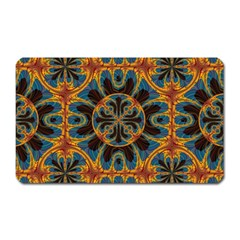 Tapestry Pattern Magnet (rectangular) by linceazul