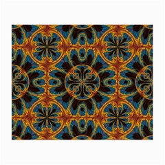 Tapestry Pattern Small Glasses Cloth by linceazul