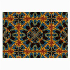 Tapestry Pattern Large Glasses Cloth (2 Side) by linceazul