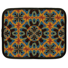 Tapestry Pattern Netbook Case (xxl)  by linceazul
