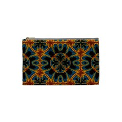 Tapestry Pattern Cosmetic Bag (small)  by linceazul