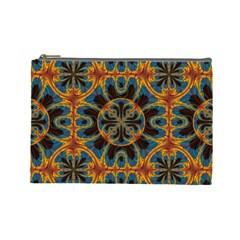 Tapestry Pattern Cosmetic Bag (large)  by linceazul