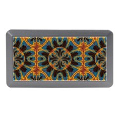 Tapestry Pattern Memory Card Reader (mini) by linceazul