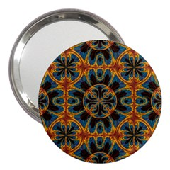 Tapestry Pattern 3  Handbag Mirrors by linceazul