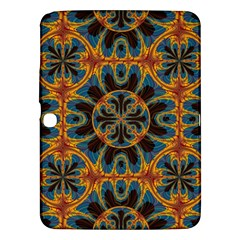 Tapestry Pattern Samsung Galaxy Tab 3 (10 1 ) P5200 Hardshell Case  by linceazul