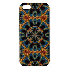 Tapestry Pattern Iphone 5s/ Se Premium Hardshell Case by linceazul