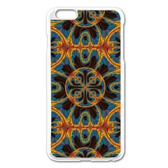 Tapestry Pattern Apple Iphone 6 Plus/6s Plus Enamel White Case by linceazul
