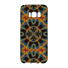 Tapestry Pattern Samsung Galaxy S8 Hardshell Case  by linceazul